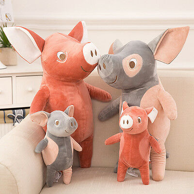 Adorable Stuffed Plush Pig Toys Kid Baby Xmas Gifts Super Soft Doll Cosy Bolster