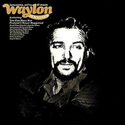 Waylon Jennings - Lonesome On'ry & Mean [New CD]