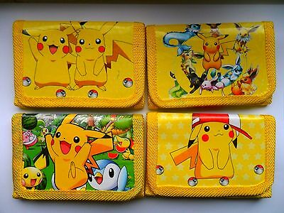 Stunning Pokemon  PIKACHU  Wallet / Purse  Four To Choose From