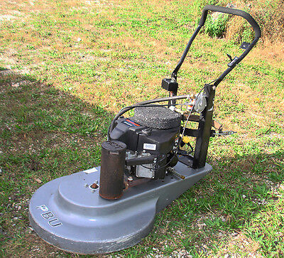 "Propane Buffer, Burnisher, Pbu By Advance, 27"", Fs481V Engine, Used, Low Hours"