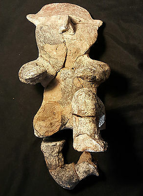 "RARE Mexican Jalisco Human Effigy, 500-200 BC, 9 1/8"" tall with COA"