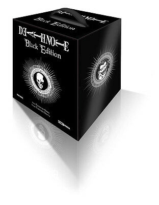 DEATH NOTE BLACK EDITION COFANETTO PIENO N. 1-2-3-4-5-6 serie completa panini