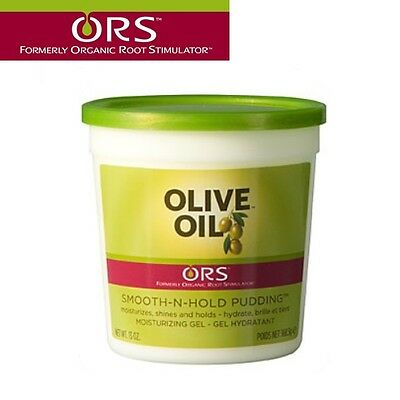 ORS Organic Root Olive Oil Smooth-n-Hold Pudding Shine & Hold Lightweight 13oz