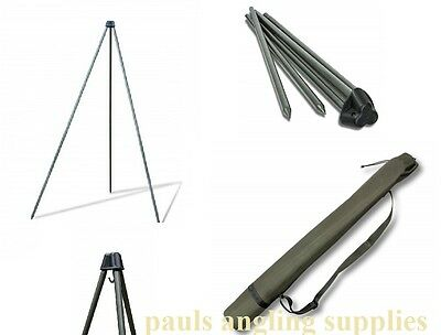 NEW  Saber Fishing Deluxe Weighing Tripod , Weigh  Frame For carp etc + Case