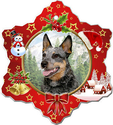 Australian Cattle Dog Christmas Holiday Ornament