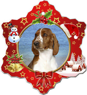 Welsh Springer Spaniel Christmas Holiday Ornament