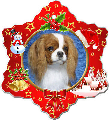 Cavalier King Charles Spaniel Christmas Holiday Ornament