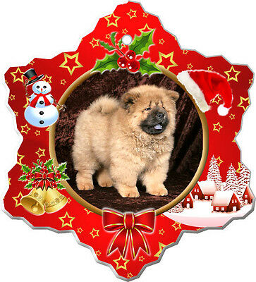 Chow Chow Christmas Holiday Ornament
