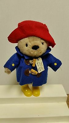 Paddington Bear 12 Inch Great Condition Plush Yellow Boots Red Hat