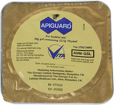 Apiguard (Varoa Treatment)