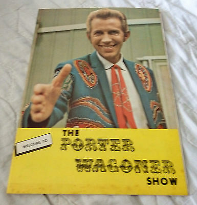 The Porter Wagoner Show Program - Dolly Parton - Signed by Speck Rhodes