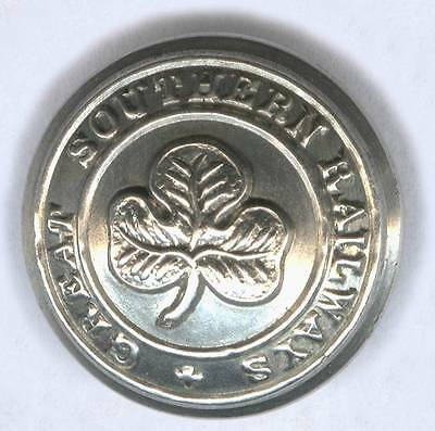 Great Southern Railways Large Nickel Button