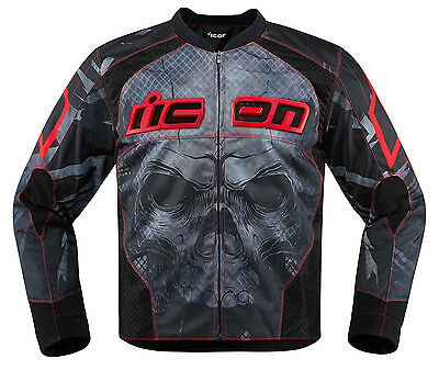 Icon Overlord Reaver Jacket Red/Black