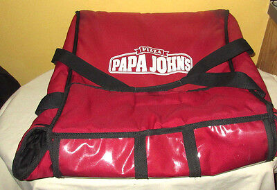 Papa John's Insulated Pizza Delivery Bag
