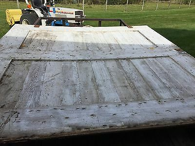 Vintage-Antique Sliding Wood Barn Doors-W/rails And Rollers
