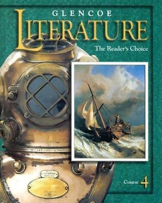 Glencoe literature course 4 the readers choice textbook free glencoe literature course 4 the readers choice fandeluxe Choice Image