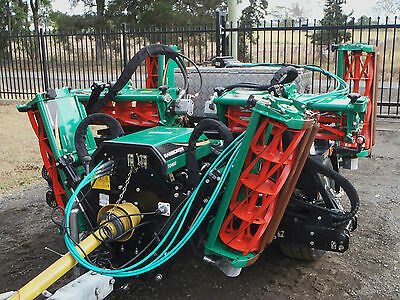2014 Textron Ransomes/7 Gang/ReelCylinder/Fairway/Greens/Lawn/Finishing/Mower