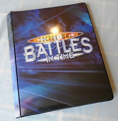 Battles In Time Invader Complete Set Of 225 Cards (with Binder)