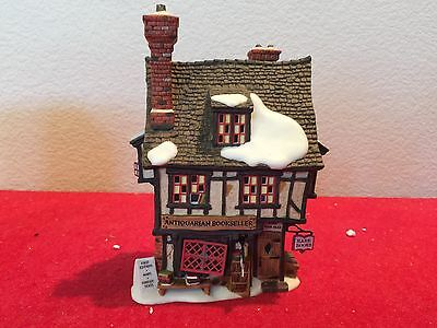 Dept 56 ANTIQUARIAN BOOKSELLER Dickens Village w/ Box WILL COMBINE SHIP