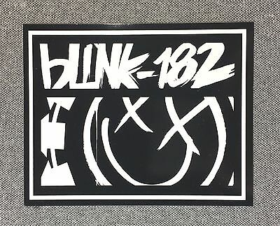 Blink-182 Sticker 4.5in Music Rock Band blink 182