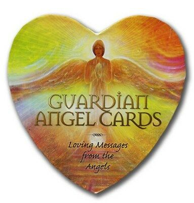 New Guardian Angel Heart Shaped Cards Deck Toni Carmine Salerno