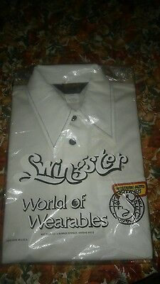 Western Auto Tires Vintage Work Shirt NIP SWINGSTER WORLD OF WEARABLES SMALL