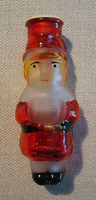 Vintage Old World Girl w/ Muff Glass Christmas Tree String Light Cover