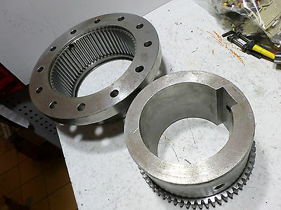 ZERN INDUSTRIES AMERIGEAR - HALF COUPLING - LARGE 240mm diameter Bored 105mm