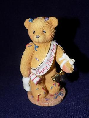 "Cherished Teddies - NEWTON #272361 ""Ringing in the new year with cheer"""