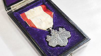 Japan Order of the Rising Sun 8th Class Japanese Vintage WW2 army navy #784