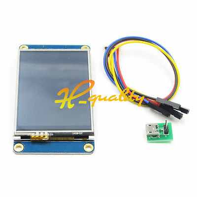 "Nextion 2.4"" USART HMI TFT Touch LCD Display Module For Raspberry Pi Arduino"