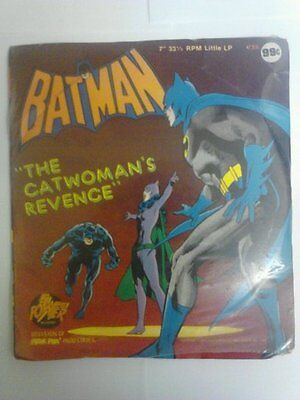"""1975 Power Records LP """"The Catwoman's Revenge"""" New Sealed"""