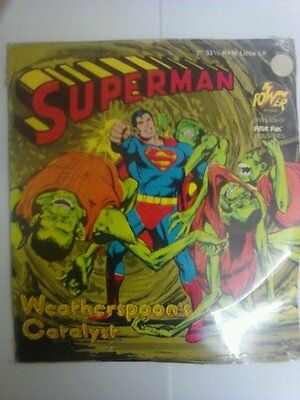 1975 Power Records LP Superman Weatherspoon's Catalyst New Sealed