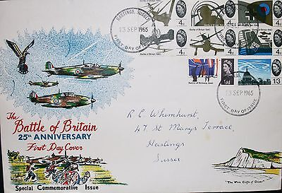 The Battle of Britain - First Day Commemorative Issue 13th September 1965