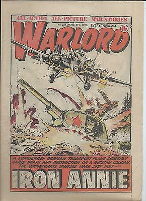 Warlord Comic number 234 March 17th 1979