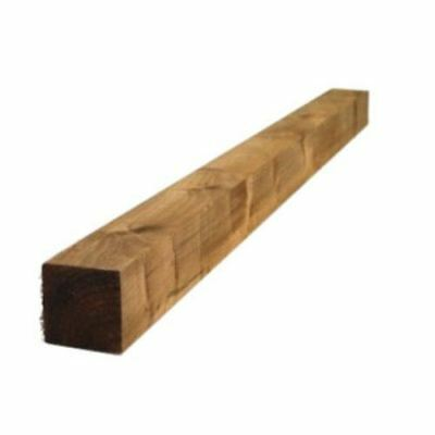 3X3 8ft PRESSURE TREATED TIMBER WOOD WOODEN GATE FENCE POST