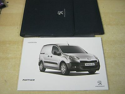 Peugeot Partner Van Owners Manual - Owners Guide - Handbook 2012-2015