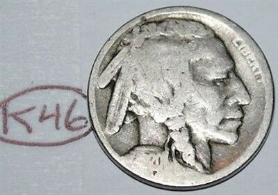 United States 1920 S Buffalo Nickel USA Indian 5 Cents Coin Lot #K46
