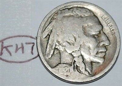 United States 1920 S Buffalo Nickel USA Indian 5 Cents Coin Lot #K47