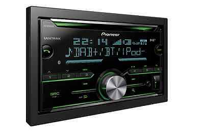 Pioneer FH-X840DAB Double Din Bluetooth  DAB+ Radio USB CD iPod iPhone Android