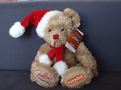 easyJet Gilliver Christmas 2006 Bear New with Tags Made by Russ
