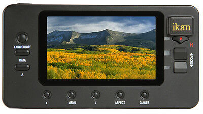 """ikan Director 4.3"""" TFT LCD Screen LANC Control (Demo) in Excellent Condition"""