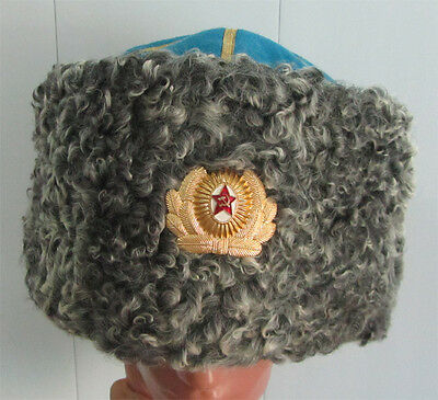 Soviet Air Force General hat Papakha