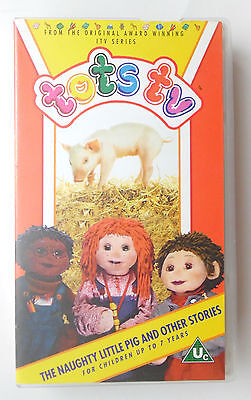 Tots Tv The Naughty Little Pig And Other Stories Video Vhs 1994 30 Mins