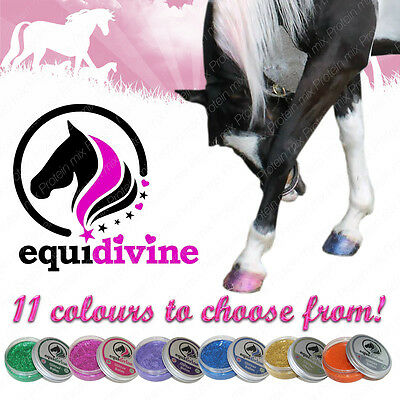 Equidivine Horse & Pony Glitter Hoof Oil Balm - 50ml 11 Colours available!