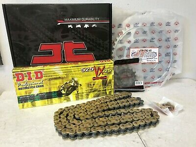 Suzuki Gsxr600 K4 K5 Chain And Sprocket Kit 04-05 Heavy Duty Did Gold X-Ring