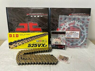 Honda Cbr600Rr Chain And Sprocket Kit 07-16 Heavy Duty Did Gold X-Ring