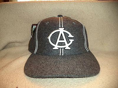 """Chicago American Giants Hat by """" HG """" 7 1/4 NEW NEGRO LEAGUE"""
