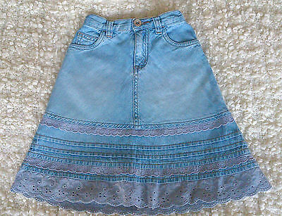Gorgeous Next Little Girl Denim Skirt 3 years