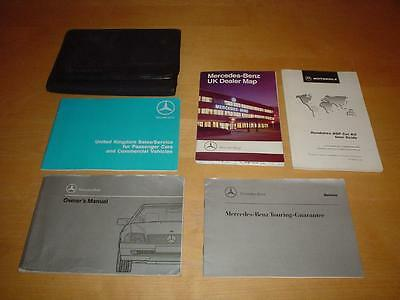 MERCEDES SL CLASS W129 R129 300SL - 24 500SL 300 500 SL Owners Handbook Manual